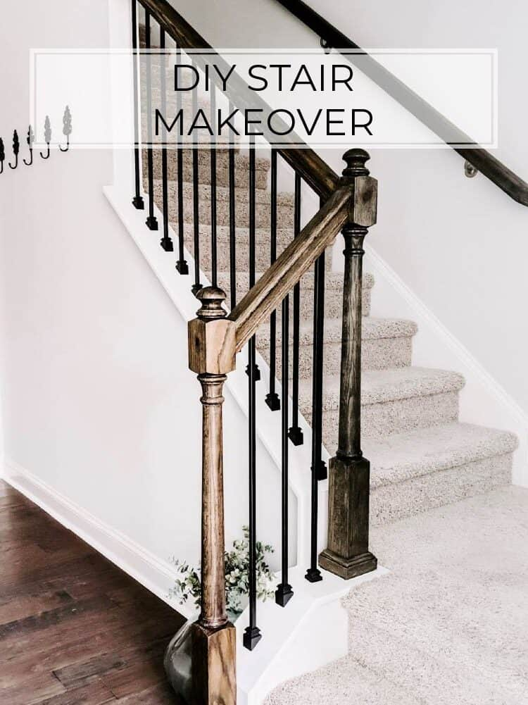 Replacing Stair Balusters – An Easy DIY Stair Transformation!