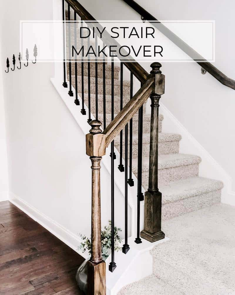 Replacing Stair Balusters An Easy Diy Stair Transformation