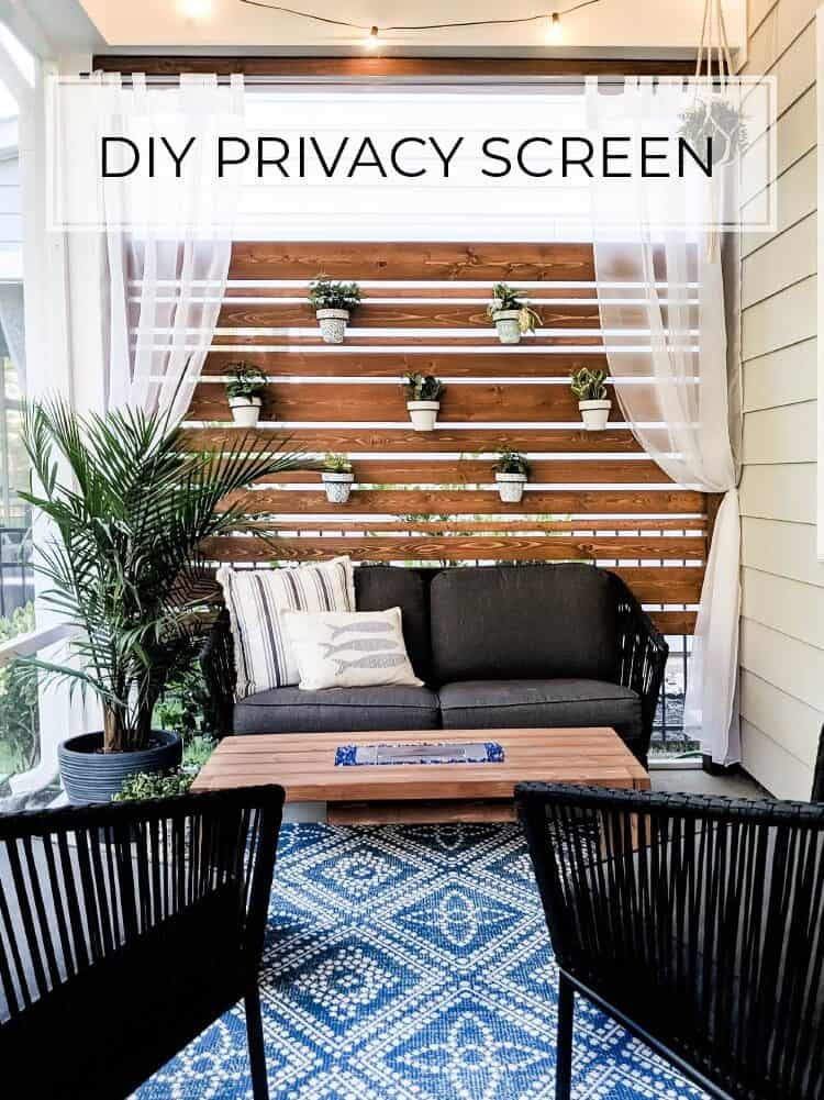 Make your Own Privacy Wall