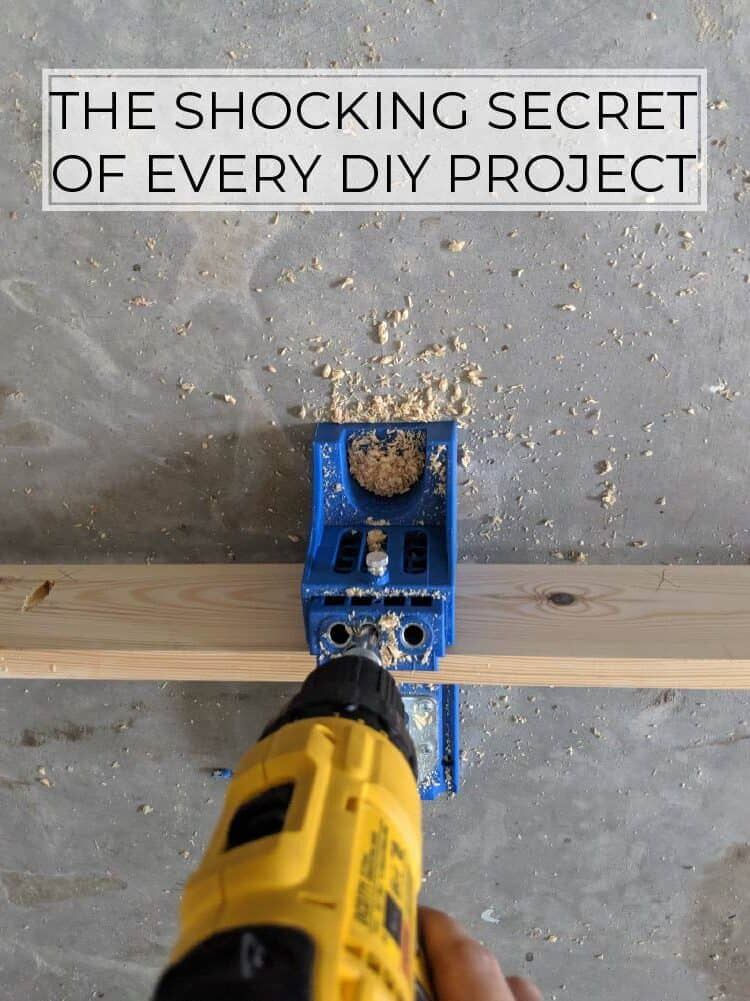 The Shocking Secret of Every DIY Project