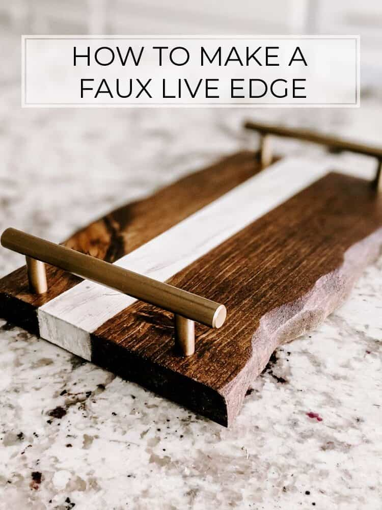 3 Steps to Create a Live Edge from a Normal Board