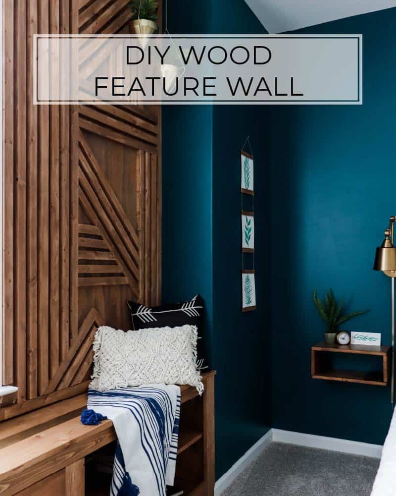 Make The Coolest Wood Accent Wall This Weekend