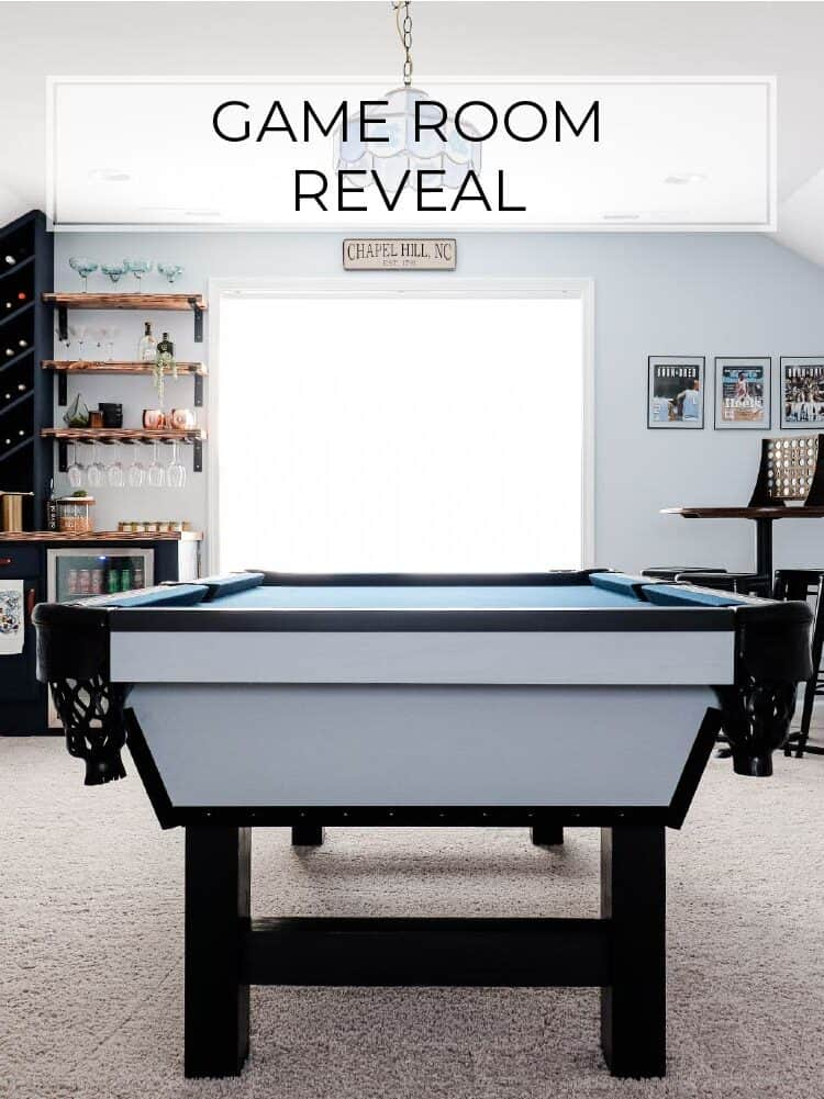 Game Room Reveal | Fall 2019 One Room Challenge