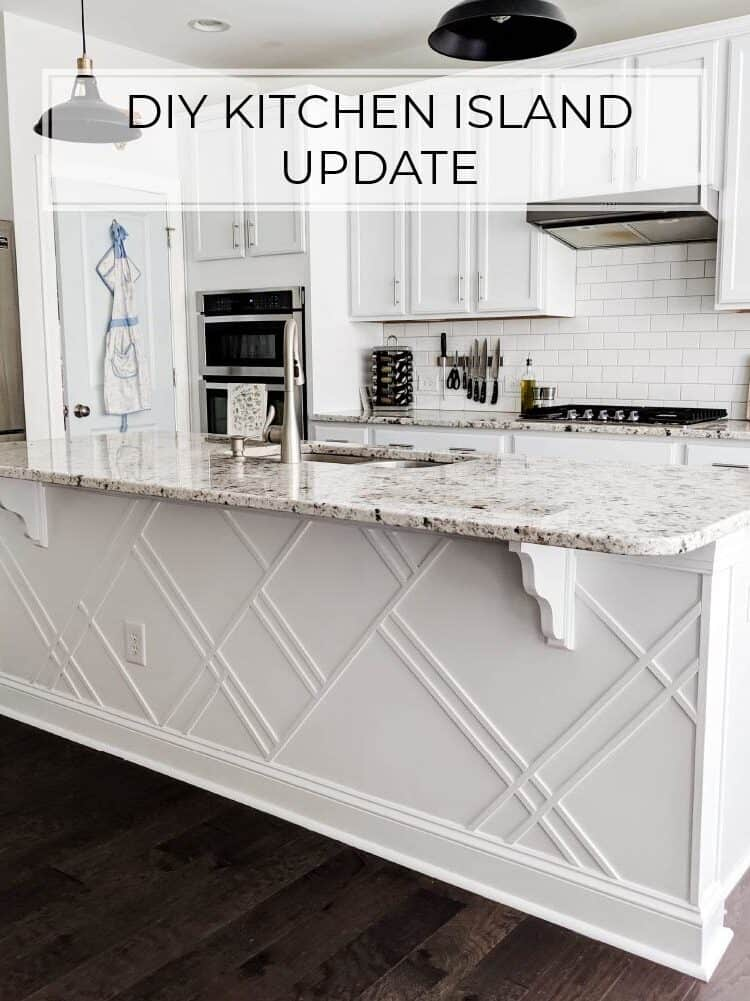 How to Upgrade a Builder Grade Kitchen Island