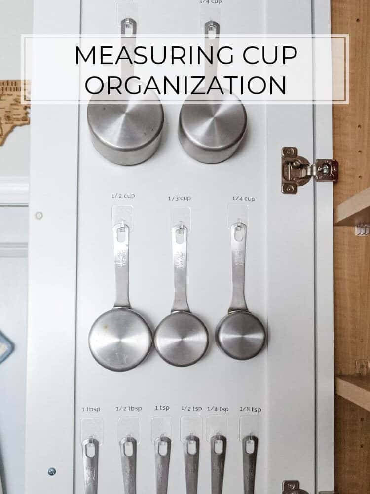 Measuring Cup Organization Using Command Hooks