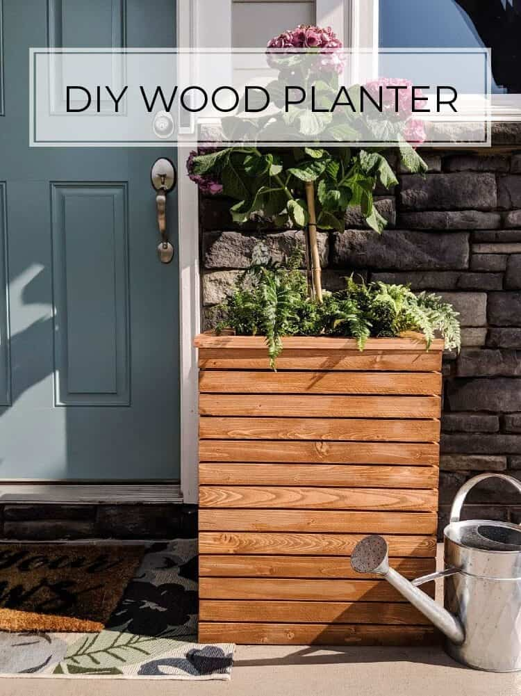 DIY Wood Planter Box Plans