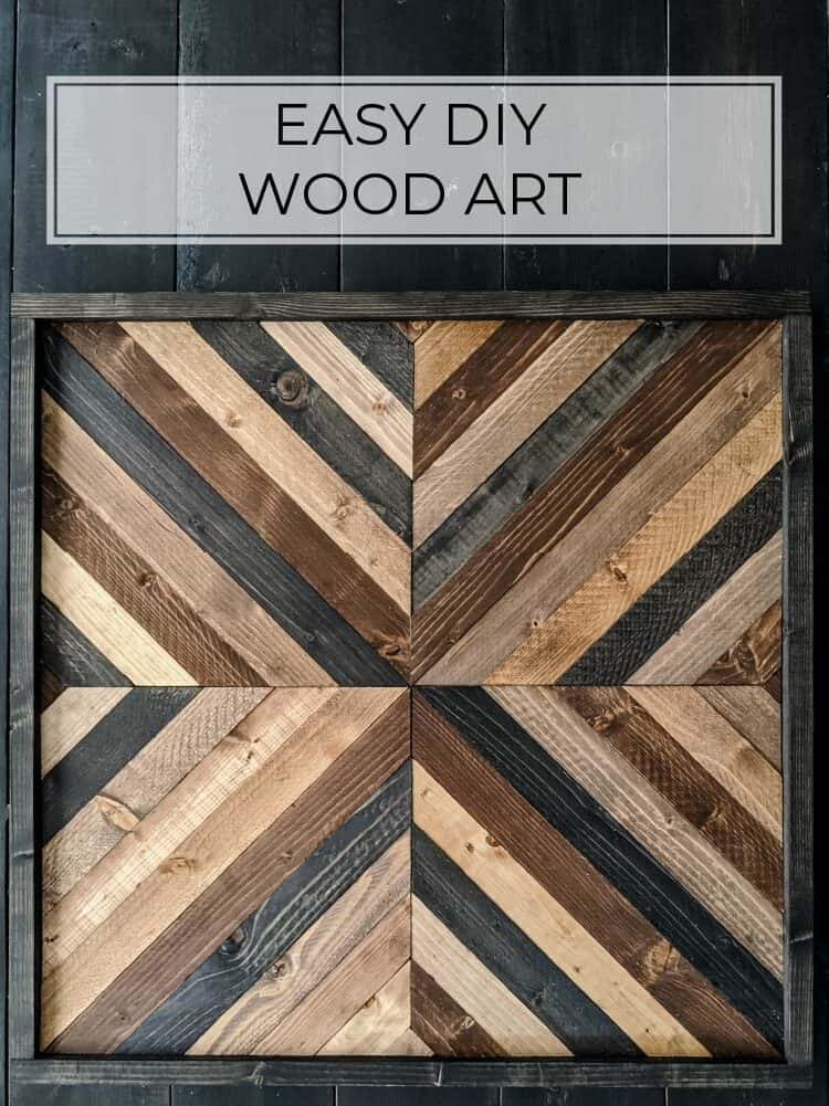 Easy DIY Wood Wall Art