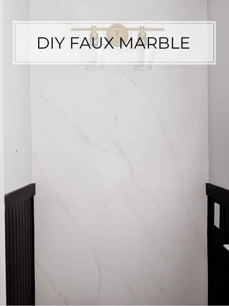 How to Imitate Marble with Paint | Faux Marble Technique
