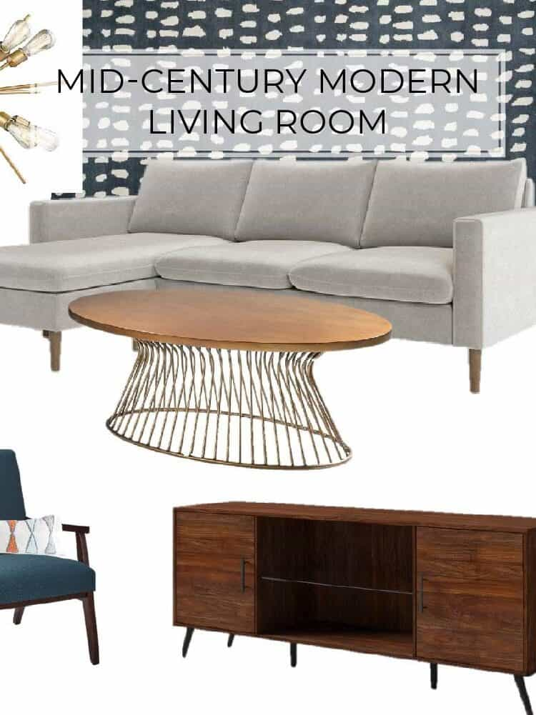 Mid-Century Modern Living Room Design Inspiration