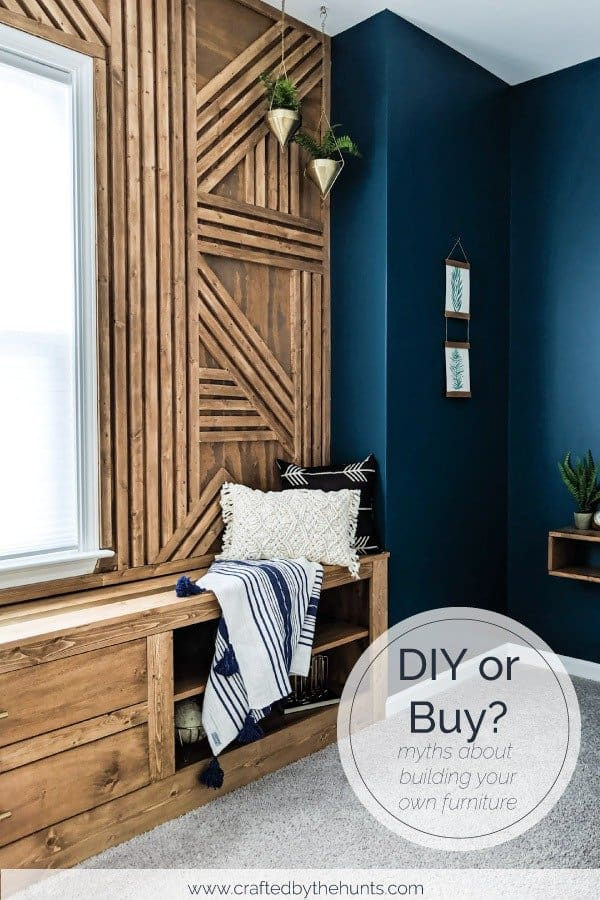 DIY or Buy? Myths about building your own furniture.