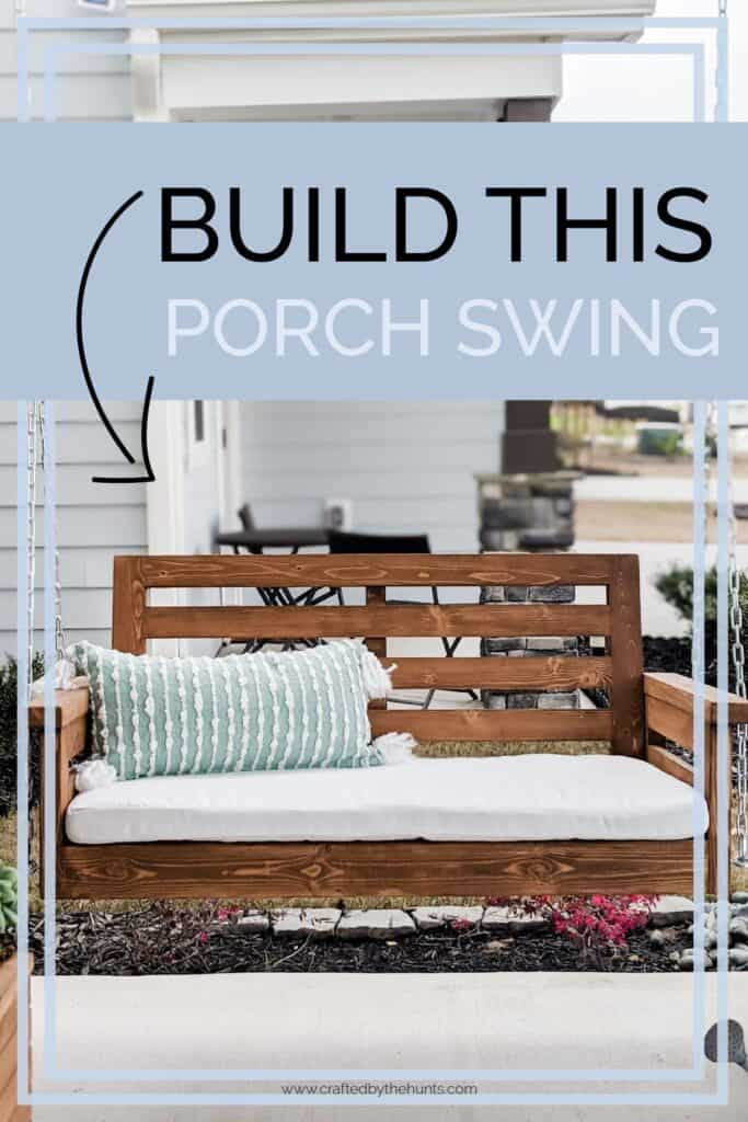 Build this porch swing