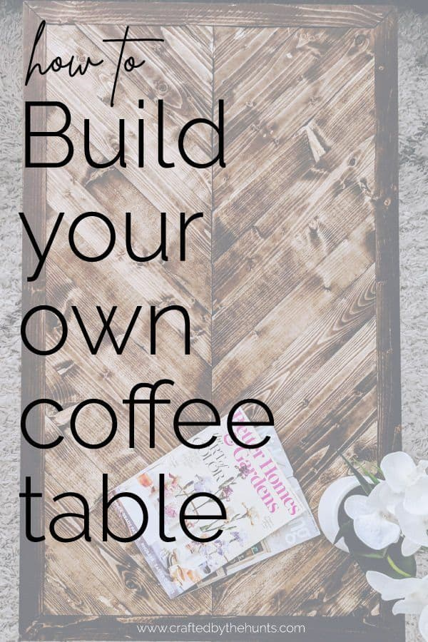 how to build your own coffee table