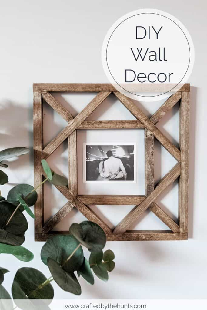 Make These Diy Wood Squares For Wall Decor
