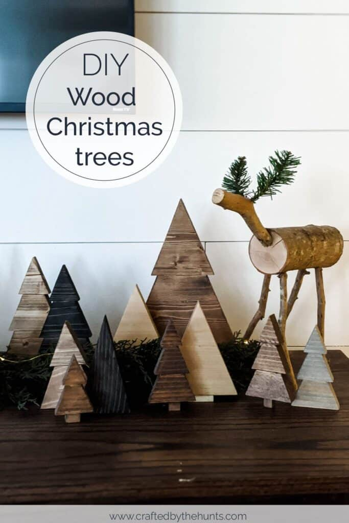 The Easiest And Cheapest Diy Wood Christmas Trees