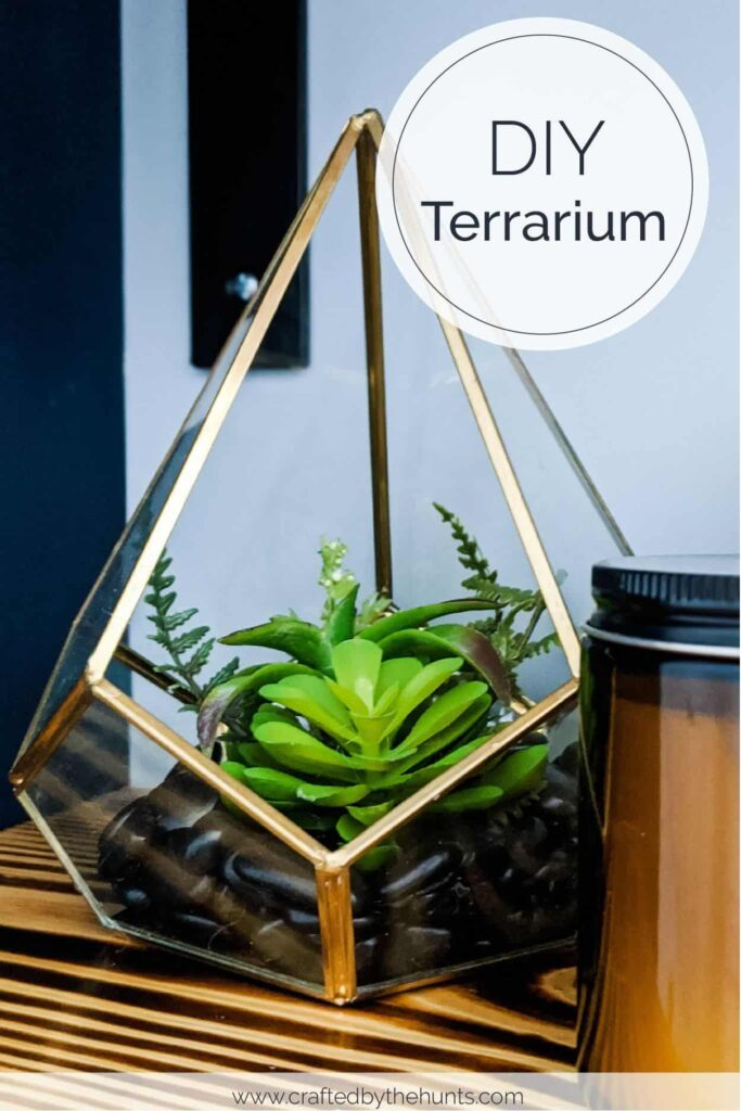 Easy Diy Terrarium Crafted By The Hunts
