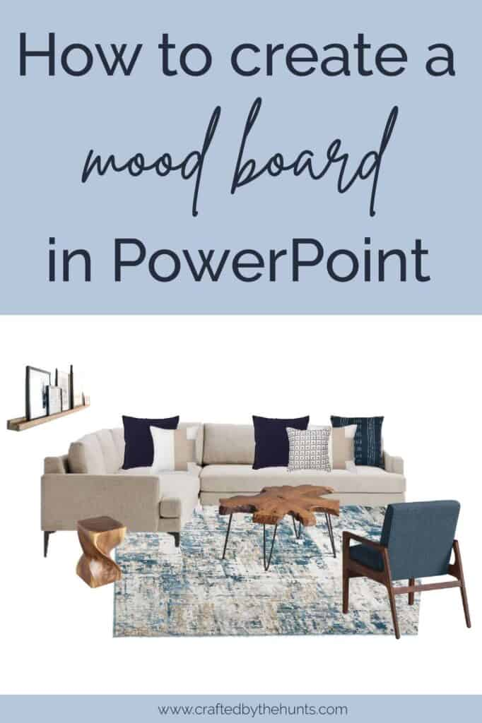 how to create a moodboard in PowerPoint