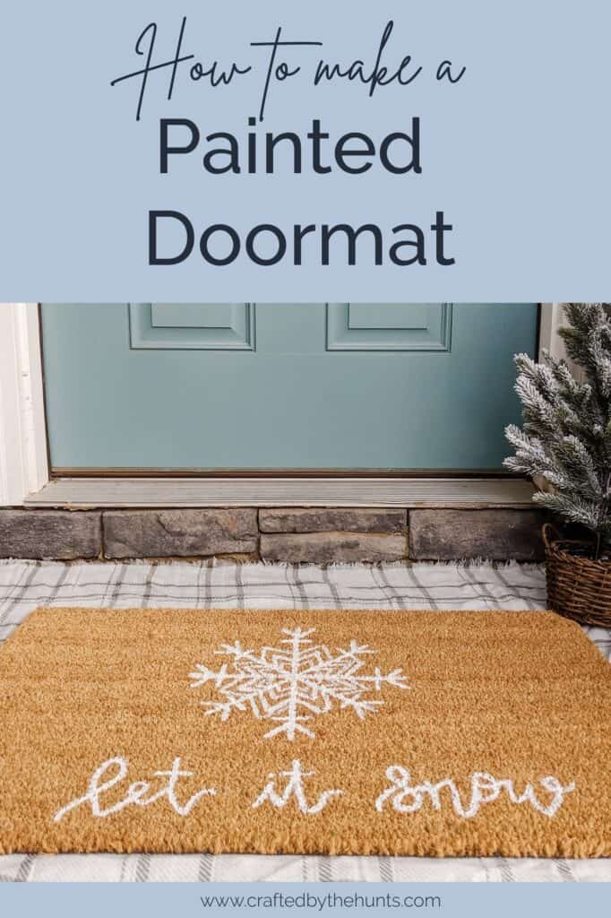 how to make a painted doormat