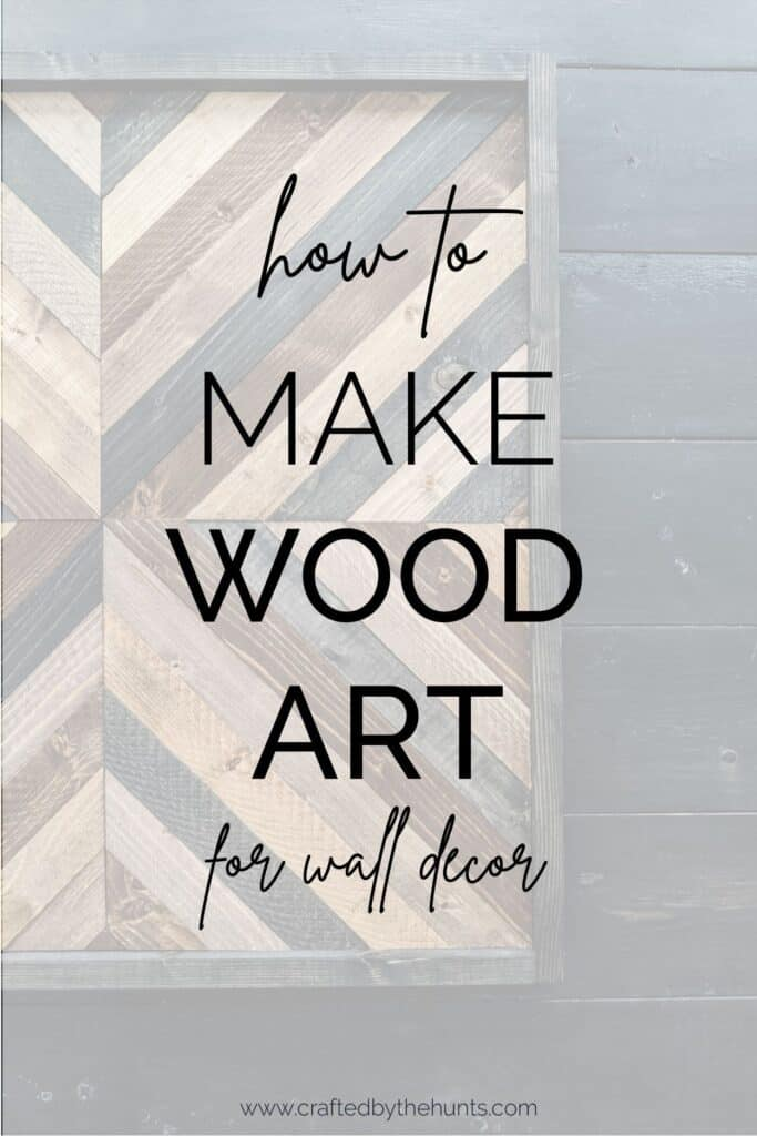 how to make wood art for wall decor