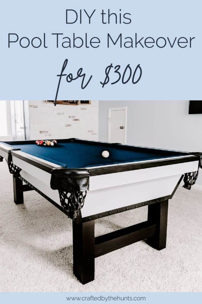 DIY this pool table makeover for $300