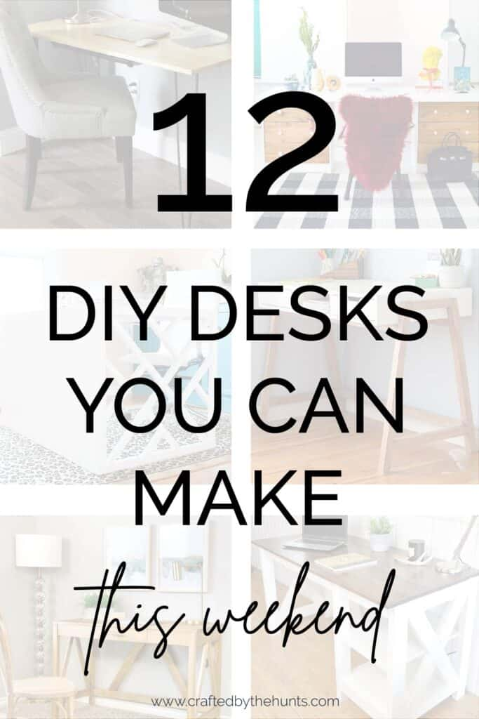 12 DIY desks you can make this weekend
