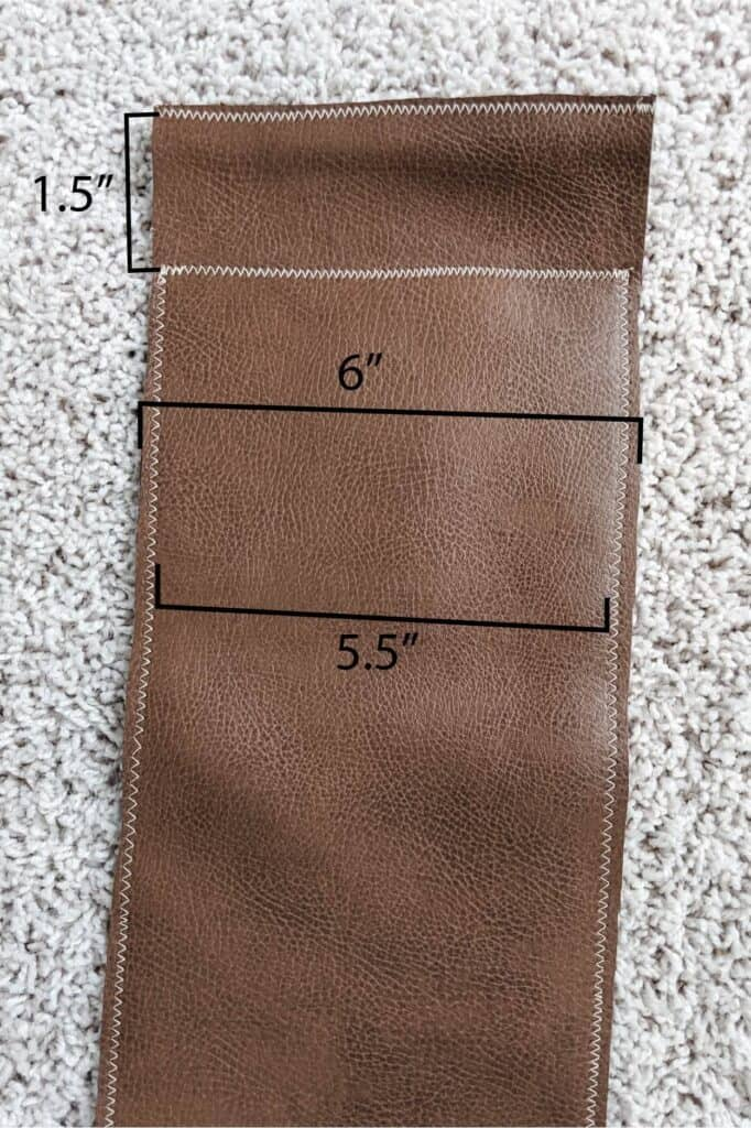 leather ping pong net dimensions
