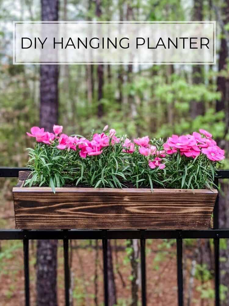 The Easiest $3 DIY Cedar Planter Boxes
