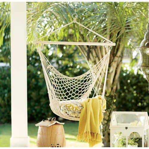 hanging hammock chair for outside