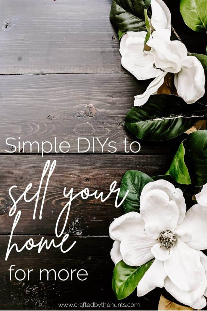 Simple DIYs to sell your home for more