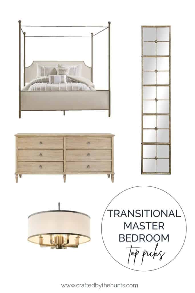 Transitional bedroom top picks of furniture and home decor