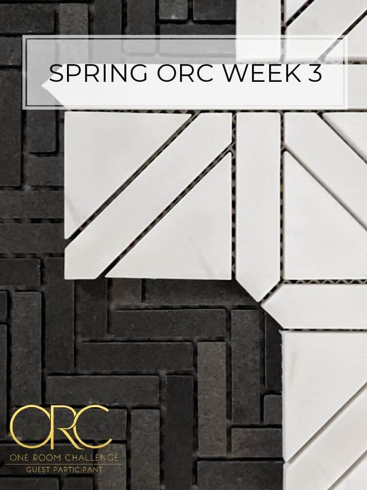 Spring 2020 One Room Challenge – Week 3