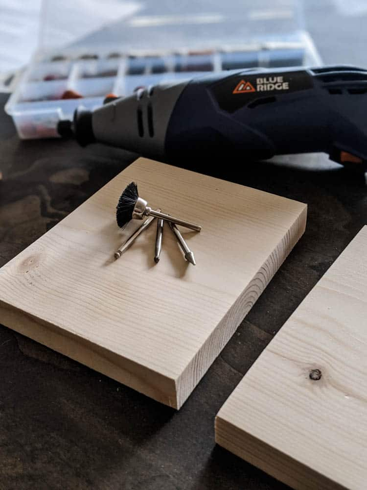 Hobby Tool bits needed to make carved wood art out of scraps