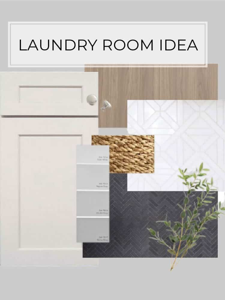 Laundry room idea and mood board