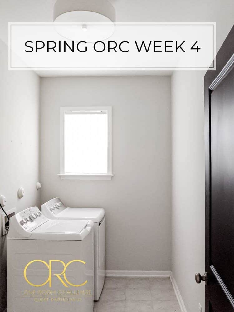 Spring 2020 One Room Challenge – Week 4