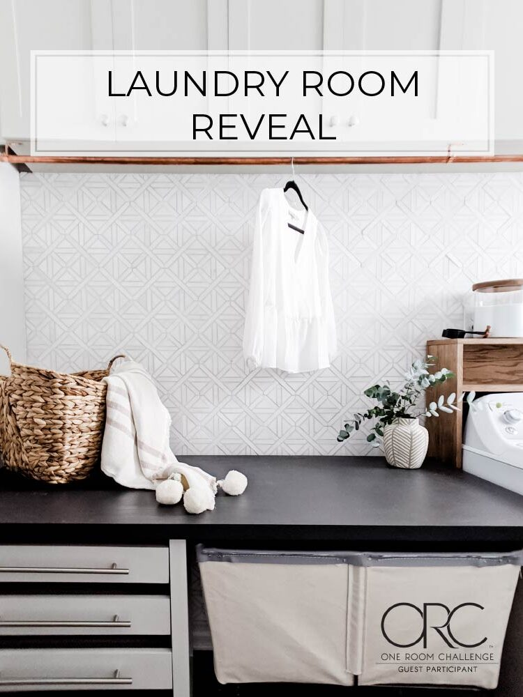 Laundry Room Reveal | Spring 2020 One Room Challenge