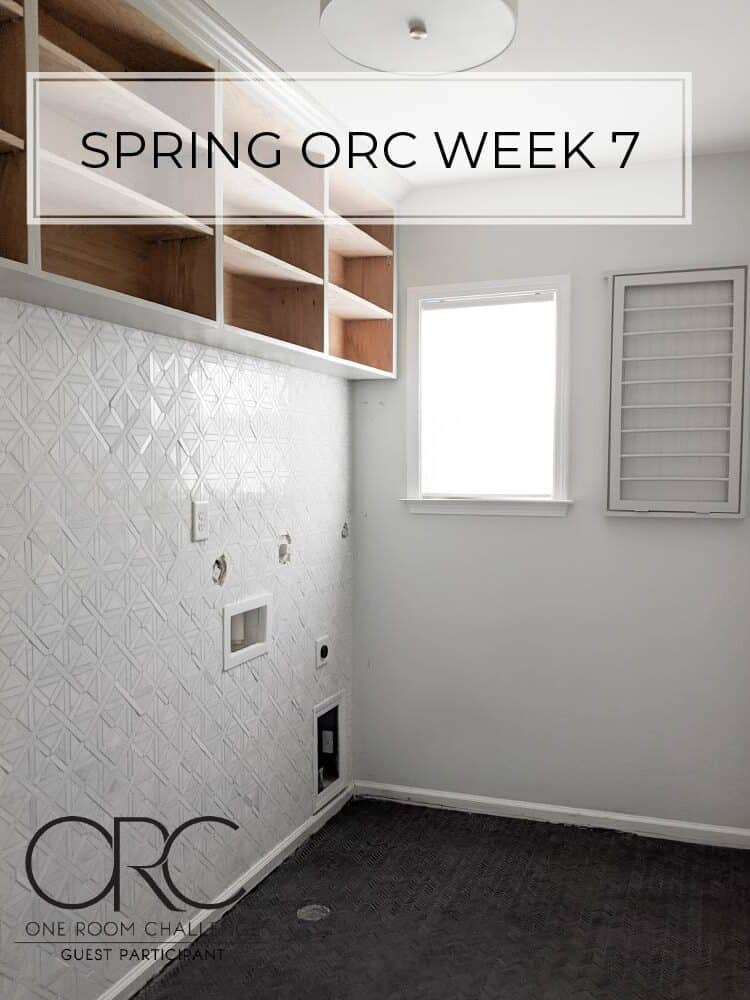 Spring 2020 One Room Challenge – Week 7