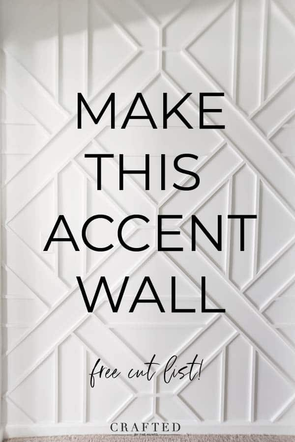 How To Build A Wood Trim Accent Wall