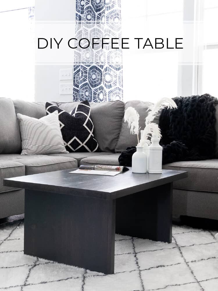 $30 DIY Coffee Table Plans