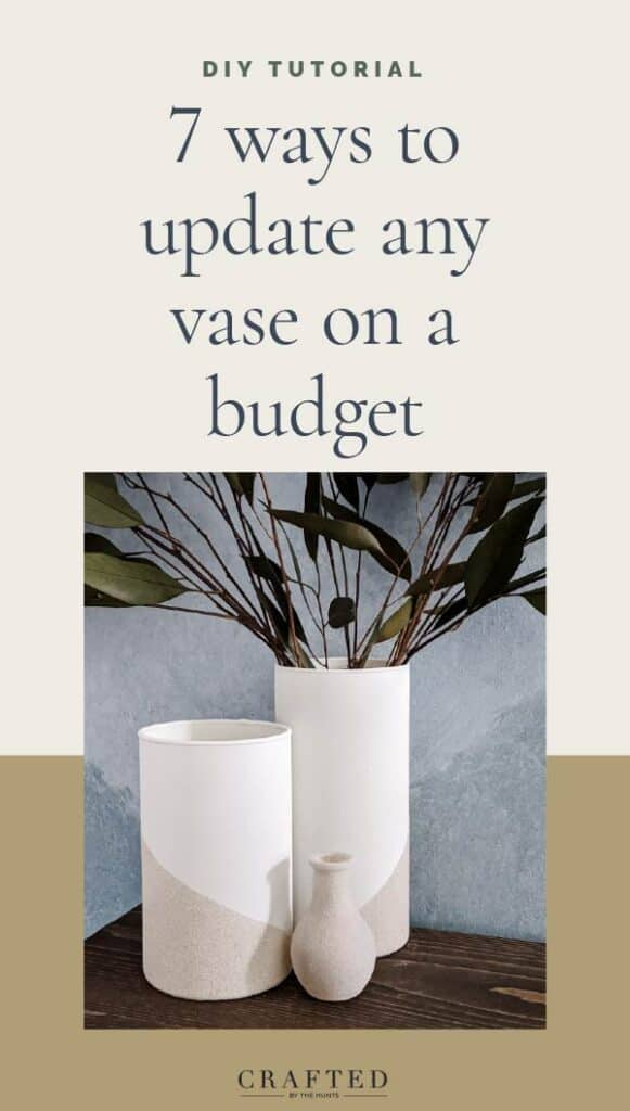 7 ways to update any vase on a budget