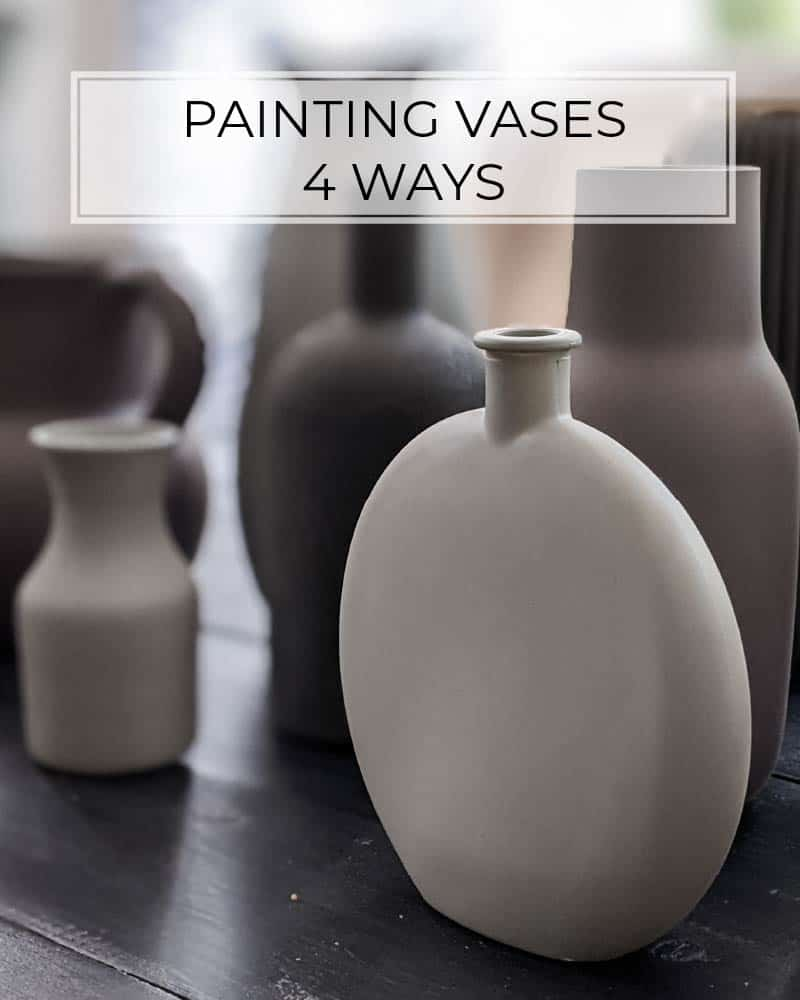 How To Paint A Vase Ways Update Cheap Glass Vases