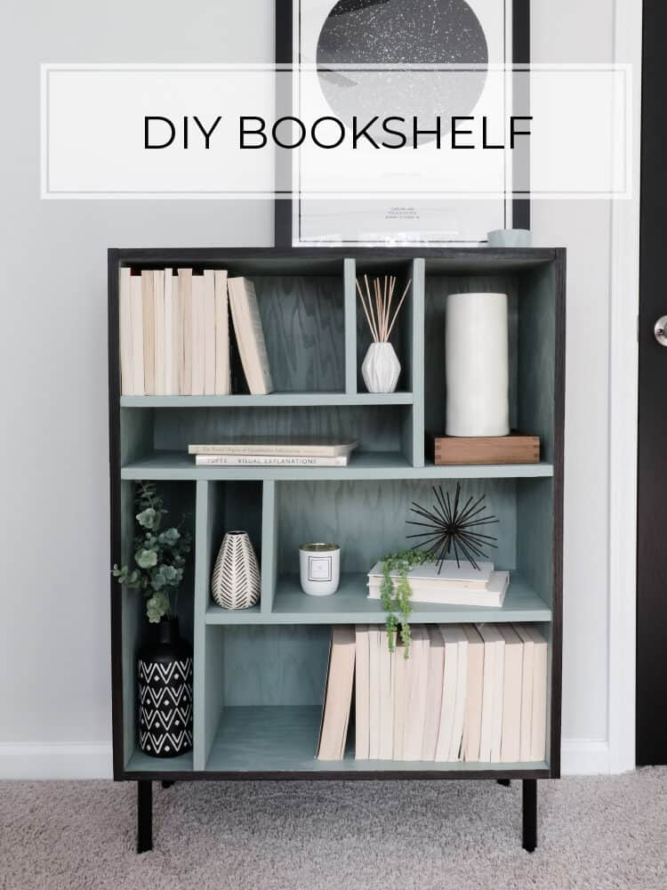 Build a Modern Bookshelf from Plywood