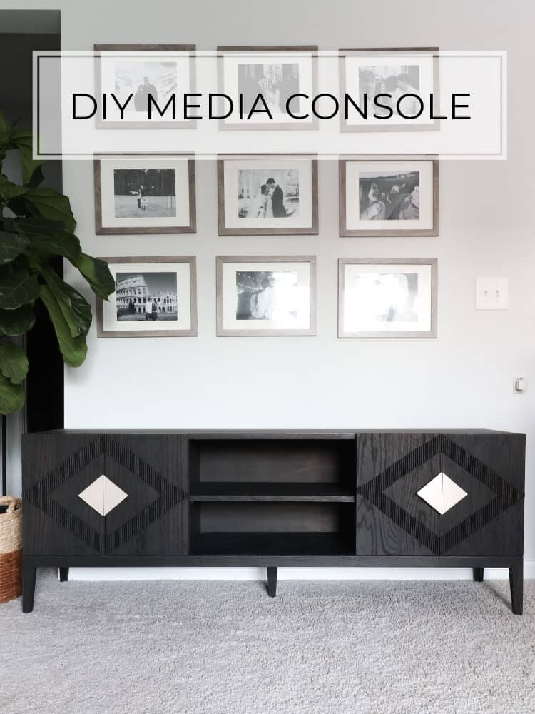 DIY Media Cabinet – Anthropolgie knock-off for a fraction of the price!