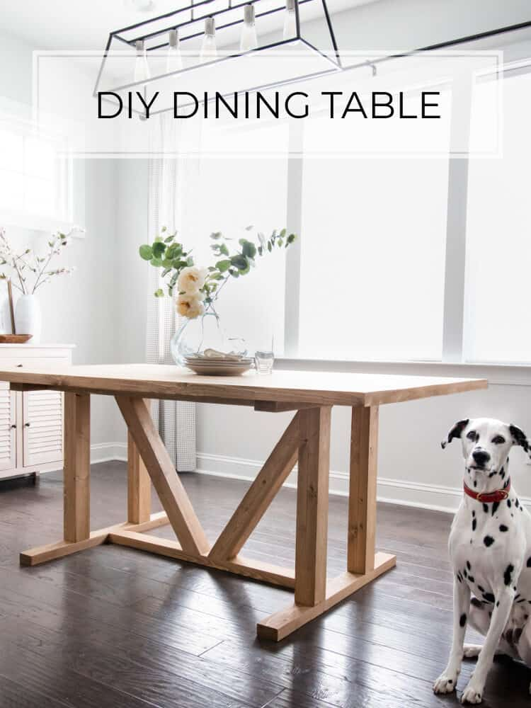 Studio McGee Inspired DIY Dining Table