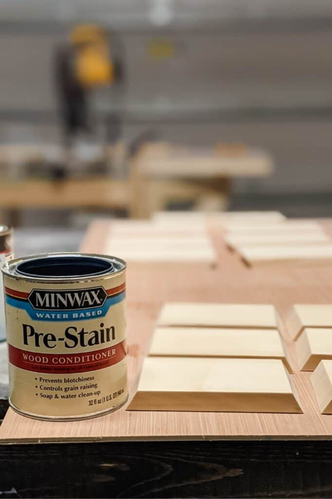 Minwax water-based pre-stain wood conditioner