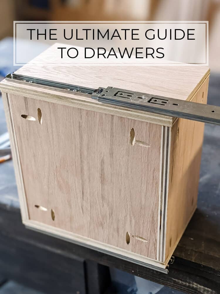 The ULTIMATE Guide to DIY Drawers: The Easiest Way to Make and Install Drawers